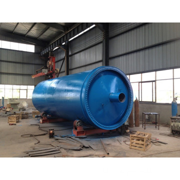 Lanning Carbon Tire Recycling Poedermachine