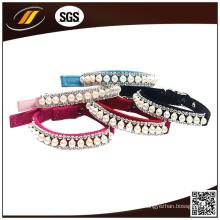 Kundenspezifische hochwertige umweltfreundliche Vollkorn-Leder Hundehalsband