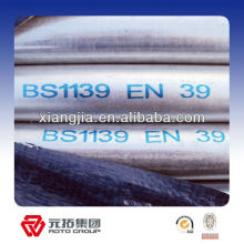 BS 1139 galvanized scaffolding pipe for tubular scaffolding system in China