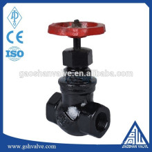 cast iron straight flow globe valve