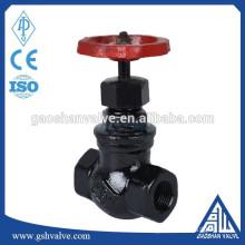 cast iron straight flow globe valve