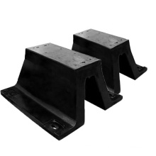 Heavy duty wharf marine V type rubber fender for berthing