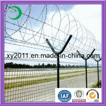 Série de clôture sécurisée et durable en fil de fer barbelé Razer