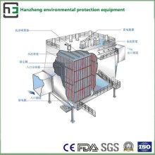 Combine (bolsa y electrostática) Tratamiento del flujo de aire del colector de polvo-Eaf