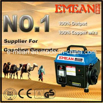 0,5 кВт-6квт / 650ВТ домашнего использования бензина генератор