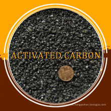 Carbón activado a base de carbón para la purificación del aire, carbón activado granular