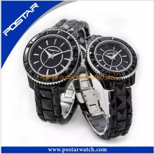 El reloj de pulsera de cerámica