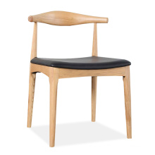 Home Furniture Nordic Style Dining Chair with Solid Wood