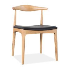 Mobília Home estilo nórdico jantando a cadeira com madeira maciça