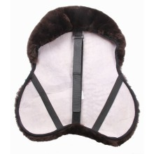 Horse equipment sheepskin saddle cover
