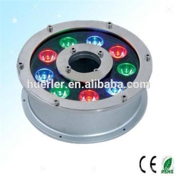Vente chaude populaire a conduit la lumière de pêche sous-marine 12v pour les petites fontaines, imperméable à LED lumière IP65