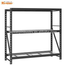 Powder coated medium duty industrial storage metal goods shelf