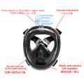 Beste versiegelte Schnorchel-Vollgesichtsmaske