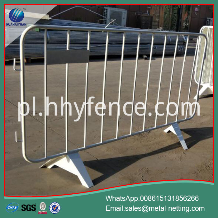 Pipe Temporary Fence