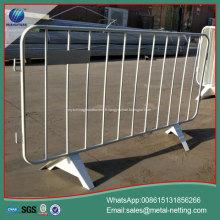 barrière temporaire de circulation tuyau soudé clôture temporaire