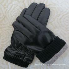 Benutzerdefinierte Wintermänner stilvolle Handschuhe