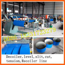 1250mm*0.8mm Metal Sheet Slitting and Rewinding Machine