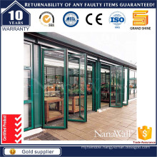 Grand Shine Aluminium Folding Door with 3500 PA Dwp