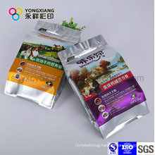 Color Customized Pet Food Plastic Packaging with Ziplock for Dog