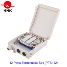 12 portas caixa de terminação de cabo de fibra óptica