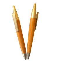 Nuevo estilo Cilck Bamboo Pen para la promoción