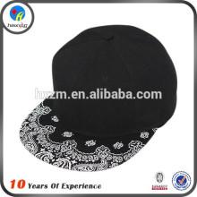 custom printed snapback 6 panel sanpback cap
