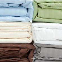 Hot deal 300TC colorful hotel collection 100 % cotton all size bed sheet