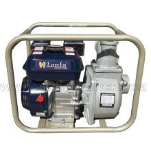 Bomba de agua de la gasolina de la irrigación agrícola Wp30, bomba de agua de 3 pulgadas 6.5HP