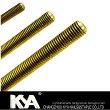 8.8/10.8 Thread Rod of DIN975 Brass Grade