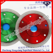 "4 ""-9"" Diamond Turbo Super Thin Blade pour carreaux de céramique"