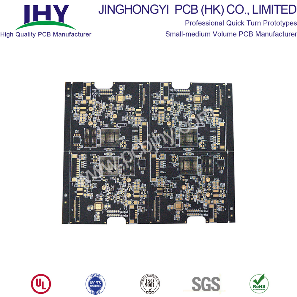 "Blind Via BGA 4L ENIG 2u"" Rigid PCB"