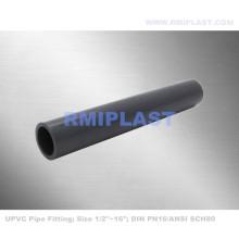 Tubo de PVC e montagem ASTM SCH80
