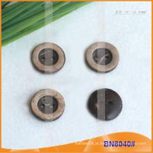 Botões de coco naturais para vestuário BN8040