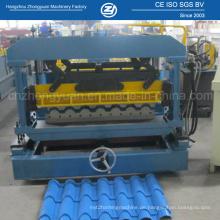 Farbstahl-Dachplatte, die Maschine herstellt