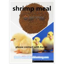 Refeição de camarão em pó de proteína de alta qualidade para aves de capoeira