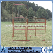 Direct marketing wide selection galvanized steel tube livestock fence panels for horse/cattle