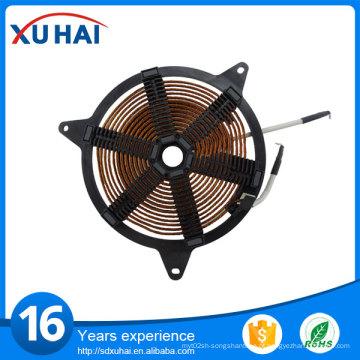 Bobina de cozedura por indução / bobina de aquecimento / alumínio e cobre