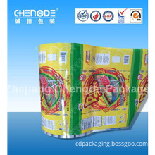 fruit candy bar packaging roll film , plastic film in roll for food