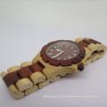 OEM Pure Natural Wooden Watch Fashion Wooden Wrist Quartz Watch