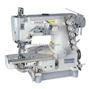 Cama de cilindro Enclavije la máquina de coser para dobladillar costura con Trimmer