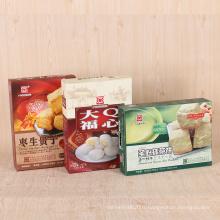 Boîte de carton d'emballage alimentaire personnalisé enfants