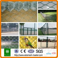 Diamond electric chaink fence panel