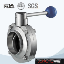 Stainless Steel Food Processing Welded Butterfly Valve (JN-BV1007)