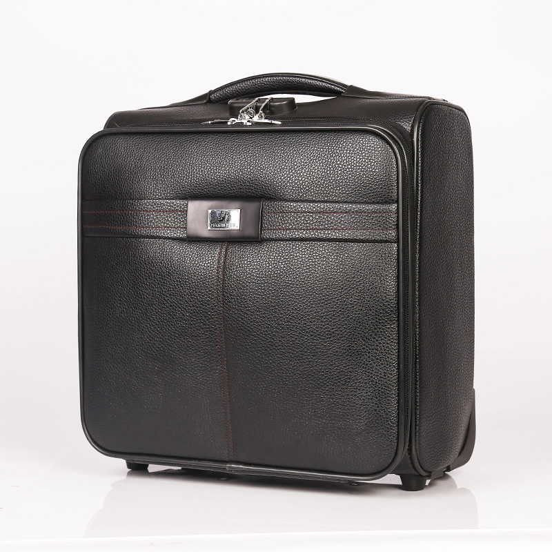 Gorgeous PU Trolley Luggage