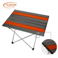 Compact Portable Camping Tables With Aluminum Table Top