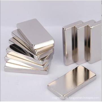 Permanent Starker, leistungsfähiger, rechteckiger Neodym-Magnet