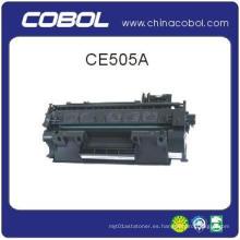 Cartucho de tóner compatible CE505A para HP