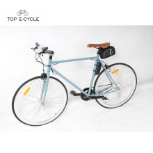 Big sale Intelligent light weight electric bicycle single speed ebike