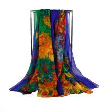 Шифоновый шарф высокого качества женщин длинний мягкий Wrap шаль