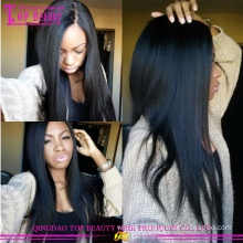 Cheap Brazilian 100% silk top Human Hair Wig glueless lace front Wig With Silk Top